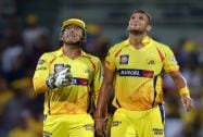 MS Dhoni and Ishwar Pandey