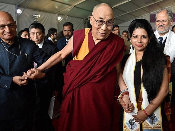 Dalai Lama, Ambedkar University, Mongolia, China