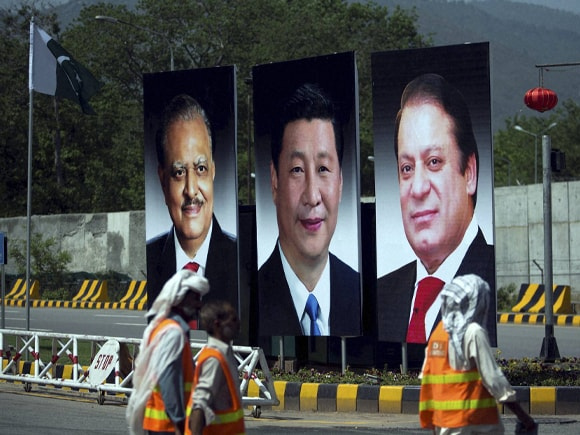 Chinese President , Xi Jinping, Prime Minister of Pakistan, Nawaz Sharif, Pakistan President, Mamnoon Hussain, Pakistan, China, India, Islamabad
