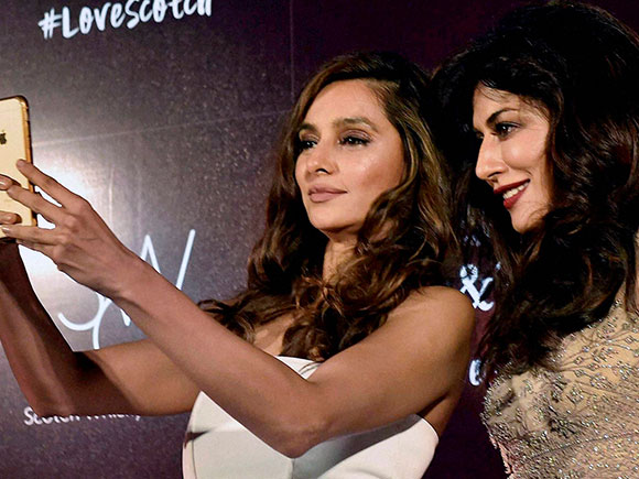 United Spirits, Chitrangda Singh, Shibani Dandekar, Scotch Whiskey Collection, Kolkata