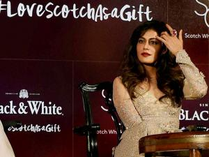 Chitrangda Singh during United Spirits unveils the Scotch Whisky Collection in Kolkata