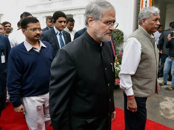 Lt. Governor of Delhi,  Najeeb Jung  Ramniwas Goel, Delhi Legislative Assembly