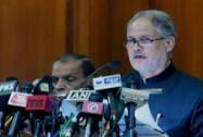 Lt. Governor of Delhi Najeeb Jung