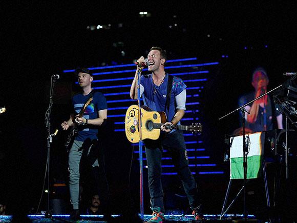 Chris Martin, Coldplay, Global Citizen concert, Narendra Modi