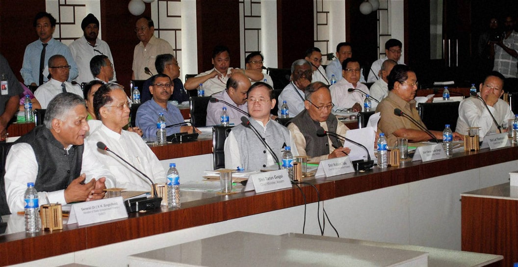 General, V K Singh, speaks, Conference, Chief Ministers,  North-Eastern States, Khanapar
