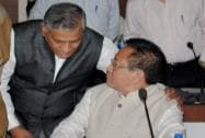 Gen (Retd) V K Singh with Nagaland Chief Minister T. R. Zeliang during the Conference
