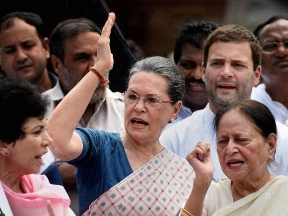 Congress, Lok Sabha, Sonia Gandhi, Sumitra Mahajan, Rahul Gandhi, MP, BJP, New Delhi