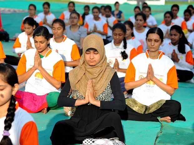 International Yoga day, Yoga, Baba Ramdev, Narendra Modi, India, Yoga day, Vasundhara Raje, Harsimrat Badal