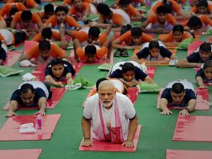Country celebrates third International Yoga day