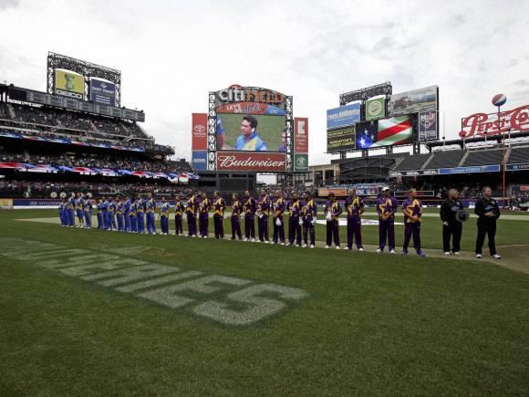 Sachin Tendulkar, Shane Warne, Cricket All-Stars, Cricket All-Stars series games, New York