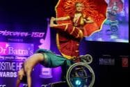 A dance troupe of specially- abled children performs at Positive Health Awards function