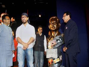 Actor Aamir Khan at Bharatiya Jain Foundation programme in Pune
