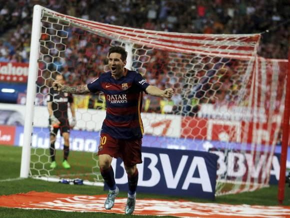 Lionel Messi, Spanish La Liga soccer match, Spain