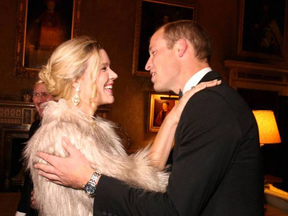 Britain Prince William, British singer, Joss Stone, 25th Anniversary Ball, Syon House, London