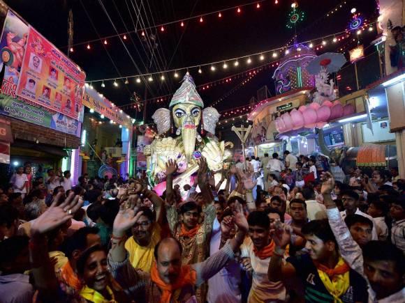 Lord Ganesh, Ganesh Chaturthi festival, Moradabad