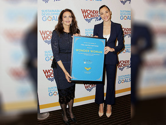 DC comic, Wonder Women, Gal Gadot, Lynda Carter, UN, Honorary Ambassador