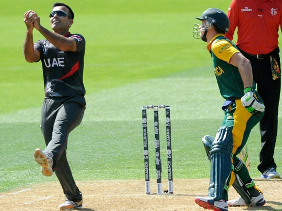 Rilee Rossouw, Mohamed Tauqir, World Cup ,  UAE vs South Africa