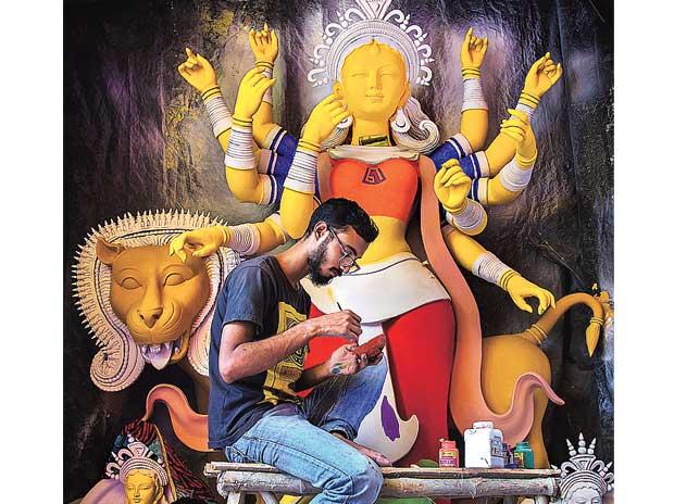 Joy Acharyya,Kolkata,Durga Puja,Goddess Durga,