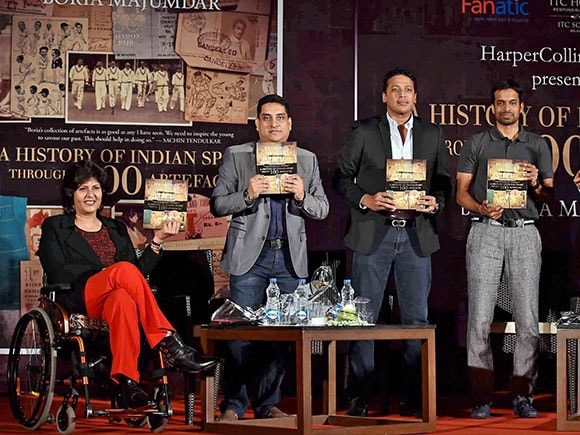 Indian Sport book, Deepa Malik, Boria Majumdar, Olympic, A History of Indian Sport through 100 Artefacts