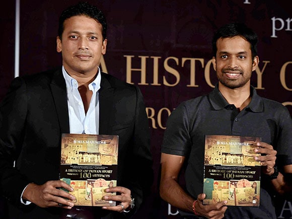 Pullela Gopichand, Mahesh Bhupati, A History of Indian Sport through 100 Artefacts
