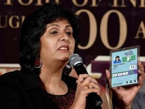 Rio Paralympics silver medalist Deepa Malik during release of the book
