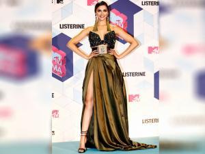 Deepika Padukone poses  at the MTV European Music Awards 2016