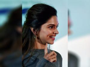 Deepika Padukone during awareness campaign on mental health Dobara Poocho