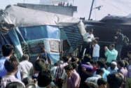 Dehradun-Varanasi Janata Express derailed