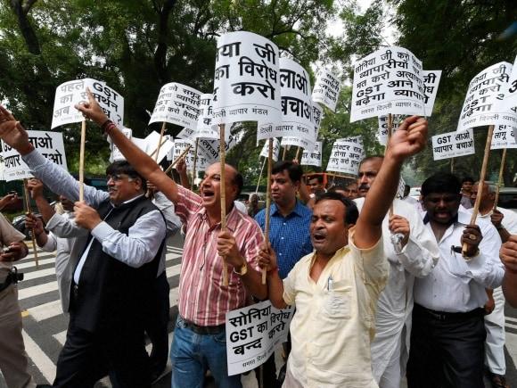 Delhi Traders Association, GST bill, Narendra Modi, Sonia Gandhi, Congress, BJP