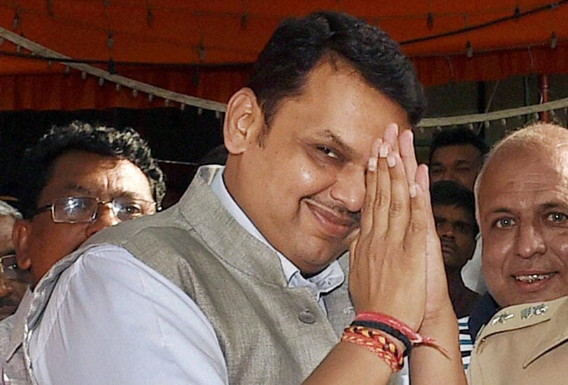 Maharashtra, BJP President, Devendra Fadnavis, BJP legislature party, meeting, elected, party's, Chief Ministerial, candidate