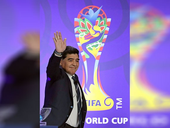 FIFA U-20 World Cup, Diego Maradona, FIFA, Football, South Korea