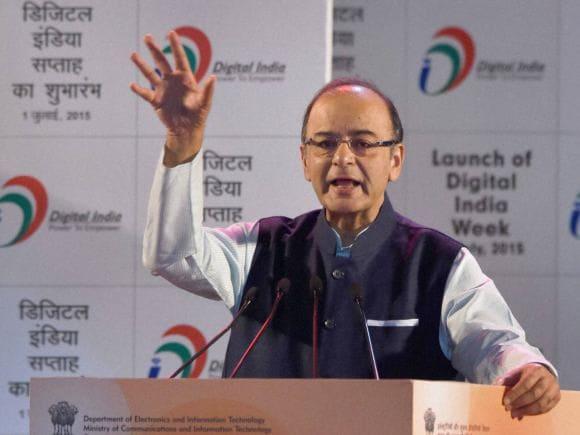 Narendra Modi, Digital India, Arun Jaitley, Ravishankar Prasad, Mukesh Ambani, Anil Ambani, Reliance, Adani, Tata, Birla, New Delhi