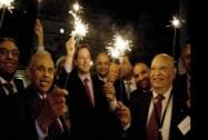 Britain's Deputy Prime Minister Nick Clegg celebrate Diwali with  Indian-origin parliamentarians and businessman