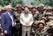 Former president APJ Abdul Kalam with J & K Chief Minister Mufti Mohammad Sayeed