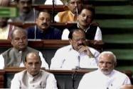 Prime Minister Narendra Modi, Home Minister Rajnath Singh