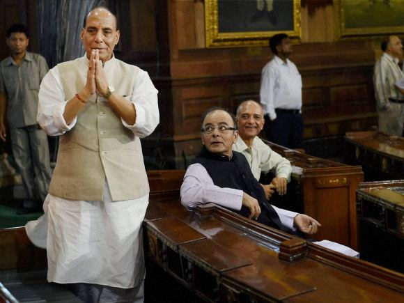 Mookerjee, Syama Prasad Mookerjee, Rajnath Singh, Arun Jaitley, Birth Anniversary, Central Hall, Parliament, New Delhi