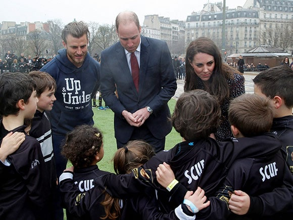 Prince William, Duchess of Cambridge, Kate, France Tour, Francois Hollande, French President, Elysee Palace in Paris