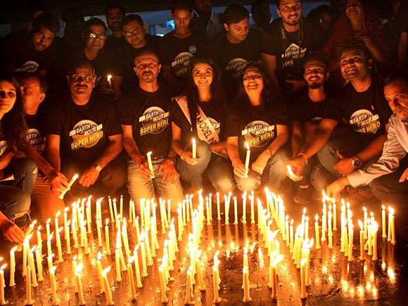 Earth Hour 2017, Earth Hour, turns off lights, world's biggest environment event, 10th annual Earth Hour