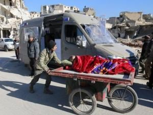 East Aleppo evacuates as no one remains safe