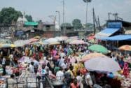 Poeple  busy with shopping ahead of Eid-ul-Fitr
