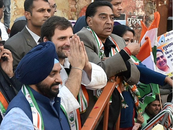 Delhi Elections 2015,  delhi 2015,  Delhi Election,  Arvinder Singh Lovely , Rahul Gandhi