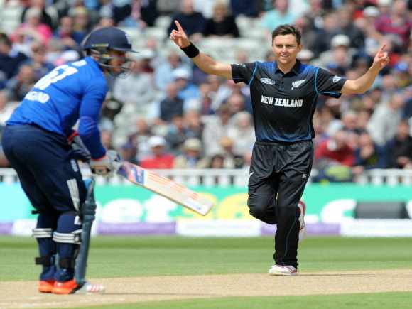 Trent Boul, Jason Roy, Martin Guptill, England, New Zealand, ODI, Birmingham