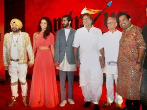 music launch of film 'Mirzya' in Mumbai