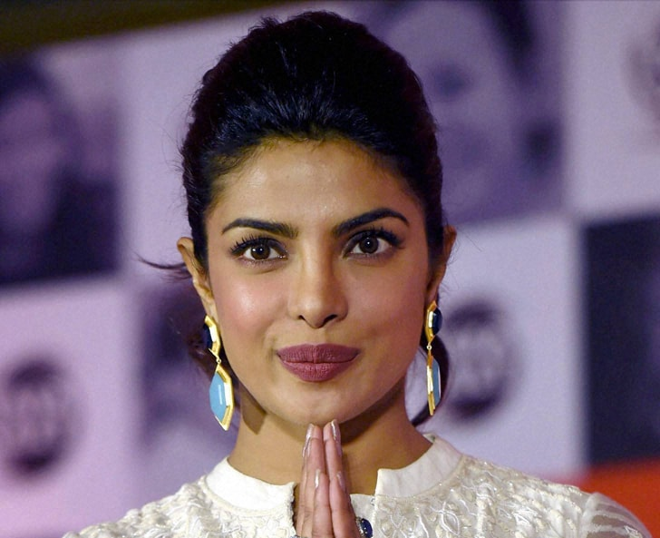 Bollywood actress, Priyanka Chopra, promotional, event, Tata Salt-Maine Desh Ka Namak Khaya Hai, campaign, Mumbai