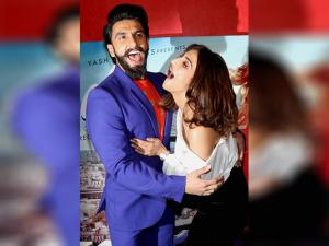 Ranveer Singh and Vaani Kapoor at the book launch of  'The Legend of Lakshmi Prasad'