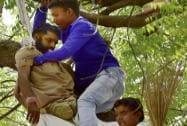 Farmer suicide at AAP rally