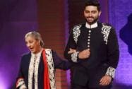 Abhishek Bachchan along with mother Jaya Bachchan