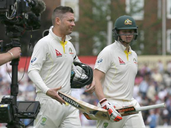 Michael Clarke, Steven Smith, Ashes Test, England, Australia, Oval cricket ground, London