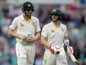 Adam Voges and Steven Smith