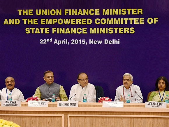 Finance Minister of India, Arun Jaitley, MoS Finance, Jayant Sinha, State Finance Ministers